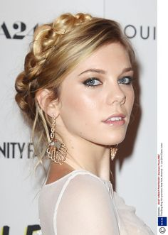 Plaited hair styles to add a touch of style to wedding hair.
