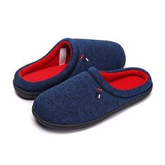a7cce02103b Men s House Slipper Cotton Memory Foam Indoor Outdoor Slippers  fashion   clothing  shoes