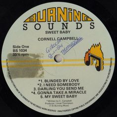 Cornell Campbell - Sweet Baby (Label)