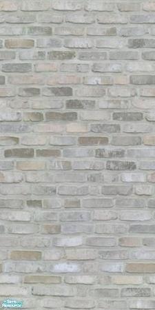Light grey exposed brick looks great in the bedroom. Light grey bedroom l Light grey home inspiration l Light grey home decor Grey Brick Houses, Light Brick, White Wash Brick, Brick And Stone, Thin Brick, Faux Brick, Brick Colors, Grey Kitchens, Kitchen Grey