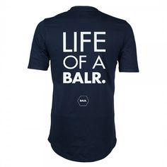 Life Of A BALR. Shirt Navy - BALR.