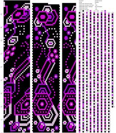 20 around tubular bead crochet rope pattern Crochet Bracelet Pattern, Crochet Beaded Bracelets, Beaded Necklace Patterns, Bead Crochet Patterns, Bead Crochet Rope, Peyote Patterns, Beading Patterns, Beaded Crochet, Mochila Crochet