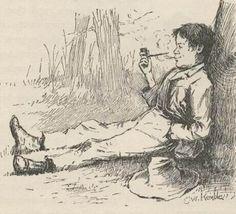 GUÍA DE LECTURA. NOVELA: Las aventuras de Huckleberry Finn, de Mark Twain, por Ancrugon  Curiosamente, a pesar de ser considerada una de las primeras grandes novelas norteamericanas, Las aventuras de Huckleberry Finn apareció publicada en Inglaterra por primera vez a finales de 1884 y unos meses después en Estados Unidos y, desde entonces, no ha dejado de suscitar una constante controversia entre quienes están a favor y quienes la consideran poco menos que una basura, por lo que es notable…