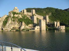 Medieval castle in Golubac, Serbia