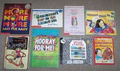 8 Teacher Class Set Vera B. Williams Picture Books~Ages 3-7~PreK 1st 2nd