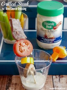 Get ready for Super Bowl with some yummy snacks, check out my recipes with Naturally Fresh® Bleu Cheese Dressing #NaturallyFreshRecipe #AD