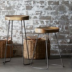 Tractor Stool 60cm | Freedom Furniture and Homewares