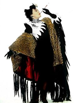Glenn Close as Cruella de Vil