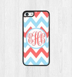Monogram iphone 5c case Chevron iphone case by Personalized8, $8.99