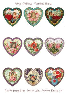 Wings of Whimsy: Valentine Hearts