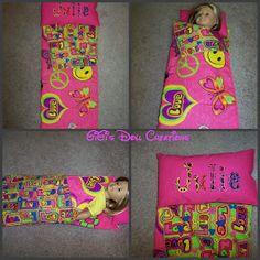 GiGi's Doll and Craft Creations: American Girl Doll Sleeping Bag Tutorial