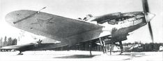 Il-2s with skis
