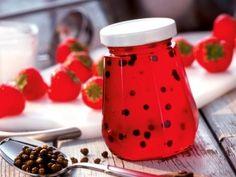 Galaretka truskawkowa z pieprzem. #strawberry #pepper