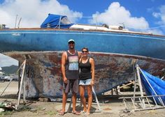 Our Boat | Day 1 | Sailboat Remodel | Sailing Blog | 33' Allied Luders | verywellsalted.com