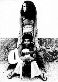 GAL COSTA and GILBERTO GIL, '73