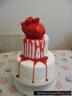Human heart cake, ummm really. Halloween Cakes, Halloween Treats, Halloween Party, Cupcakes, Cupcake Cakes, Beautiful Cakes, Amazing Cakes, Heart Birthday Cake, Happy Birthday
