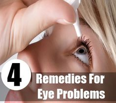 Best Home Remedies for Healthy Eyes  Only a human being can understand the importance of the eyes. Just because of the Eyes we can see everything, without the eyes there is no meaning of the life. Our eyes daily exposed to the external environment, pollution and dust. Almost everyone in the world uses the eyes for every work, just because of it; they have to face several eye problems. The list of eye problems is almost endless. But even knowing it, we didn't care our eyes?.