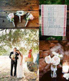 Rustic wedding by Michael Daigian Design