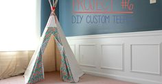 Here it is, Ashlynn's Teepee Tutorial! I'm attempting to be as clear as I can, but I didn't photograph every step so feel free to let me k...