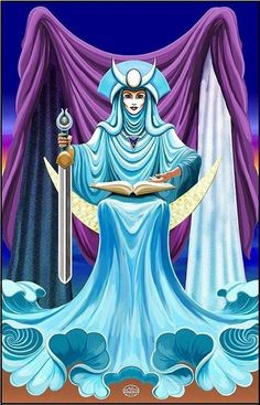 The High Priestess is all about inner intuition