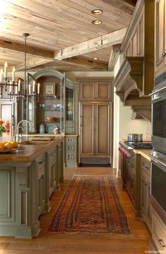 Cool 50 Rustic Cottage Kitchen Cabinets Ideas https://decorisart.com/57/50-rustic-cottage-kitchen-cabinets-ideas/