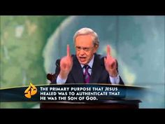 The Promises of God, Part 5 The Promise to Heal Charles Stanley - YouTube