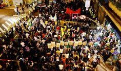 São Paulo tem primeiro protesto contra a Copa sem detidos    | #Ativistas, #CopaDoMundo, #Manifesto, #Marcha, #MASP, #Pm, #Protesto