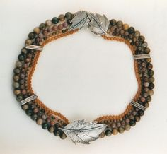 leaf_necklace - Ahlene Welsh. Beautiful!!