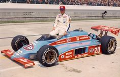 Indy 500 winner 1982: Gordon Johncock  Starting Position: 5  Race Time: 3:05:09.140  Chassis/engine: Wildcat/Cosworth