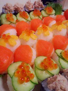 ひな祭りやパーティーに☆手まり寿司 by さっっっさ