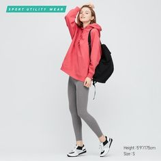 High-tech leggings that feel fresh and also protect against uv rays. They dry easily after washing, for convenience. Cool touch functions that make them feel cool and refreshing the moment you put them on. Added dry technology so they dry easily after was Best Leggings, Sports Leggings, Women's Leggings, Leggings Are Not Pants, Uniqlo, Trousers Women, Pants For Women, Gym Pants, Colorful Leggings