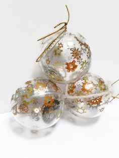 Steampunk Christmas bauble tree by KTsCreatureComforts on Etsy
