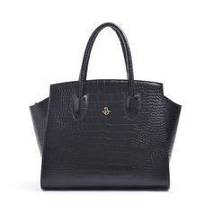 Carbotti 1512 - Borsa da donna in pelle cocoricò nero - http://carbotti.it/prodotto/carbotti-1512-borsa-da-donna-in-pelle-cocorico-nero/