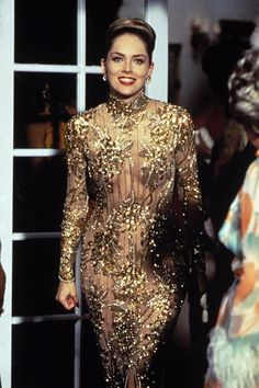 Sharon Stone in Casino, where her character was the literal personification of Las Vegas