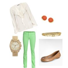 Love the TR jeans...easy to find those!  And the ballet flats + my Michael kors watch!  Will go perfect with my new Tiffany's sunglasses I just bought!  Too cute!