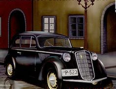 The Bronco German Light Saloon Opel Olympia 1937 in 1/35 scale from the plastic car model range accurately recreates the real life German car from 1937. This plastic car kit requires paint and glue to complete.