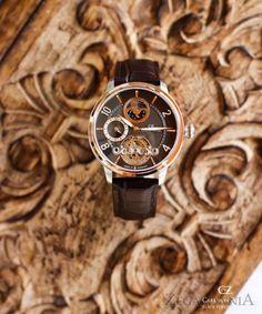 Carl von Zeyten CVZ0046RBR - zegarek Calw Automatic • Zegarownia.pl Rolex Watches, Vintage, Accessories, Vintage Comics, Primitive, Ornament