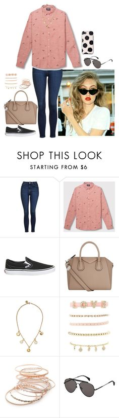 """""""Untitled #870"""" by fatyhnrqz94 ❤ liked on Polyvore featuring Topshop, Vans, Givenchy, Marc by Marc Jacobs, Charlotte Russe, Red Camel, Tommy Hilfiger and Kate Spade"""