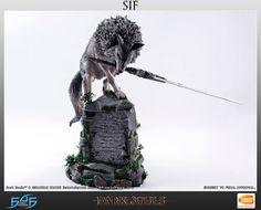 Estatua the great grey golf Sif 64 cm. Dark Souls. First 4 Figures Impresionante pieza en forma de estatua del gran lobo gris de nombre Sif de hasta 64 cm de altura, uno de los personajes que podemos ver en el videojuego Dark Souls. Una gran estatua de coleccionista de edición limitada y 100% oficial y licenciada.