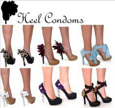 Sweatshirt Extreme Makeover | High Heel Junkies everywhere NEED Heel Condoms | Welcome to High Heel ...