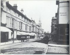 Palmerston Road, Southsea 1880's Old Pictures, Old Photos, First Color Photograph, Uk Board, Hampshire Uk, Close To Home, Portsmouth, Beautiful Places To Visit, Southampton
