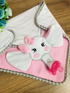 Brother Embroidery, Baby Embroidery, Baby Binky, Baby Toys, Baby Sewing Projects, Sewing Crafts, Baby Doll Carrier, Baby Applique, Toddler Themes
