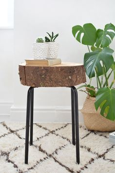 DIY | wooden stool ikea hack @burkatron