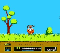 Duck Hunt. a always tried to shoot the dog. how dare he mock me