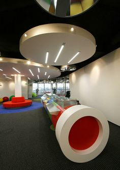 Google Modern Office Design #interiordesign #officedesign