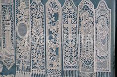 Lace bookmarks, Burano, Venice