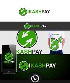 Logo for IKASHPAY Logo Branding, Logos, Logo
