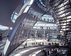Stunning Decoration Implemented in Reichstag building : The Reichstag Building Roof