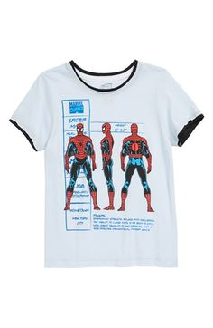 Mighty Fine 'Spiderman Profile' T-Shirt (Little Boys) available at #Nordstrom