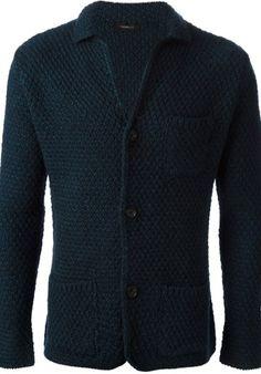 TONELLO - Chunky knit cardigan #alducadaosta #newarrivals #fw #fall #winter #men #fashion #style #accessories #apparel #tonello